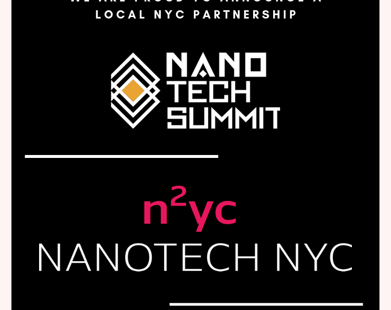 Annual Nano Tech Summit Announces Ecosystem Partnership with NYC Nanotech