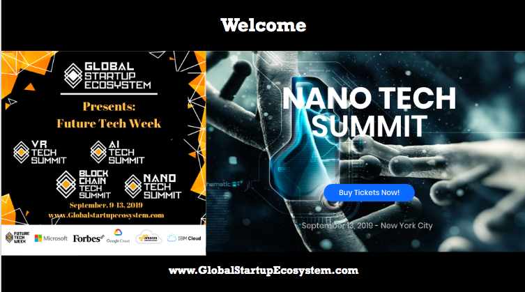Why the GlobalStartupEcosystem Launched Nano Tech Summit (Future Tech Week) with Microsoft 2019