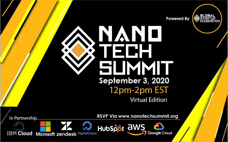 Global Startup Ecosystem Announces the 2nd Annual Nano Tech Summit in Partnership with Microsoft